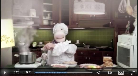【動画あり】コンドームが「子ども番組の料理コーナー」で使用され物議
