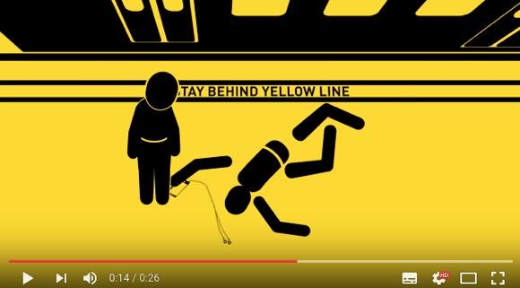 【怖い】海外でも問題視されている「歩きスマホ」や「駆け込み乗車」の警告動画に背筋がゾ〜ッ