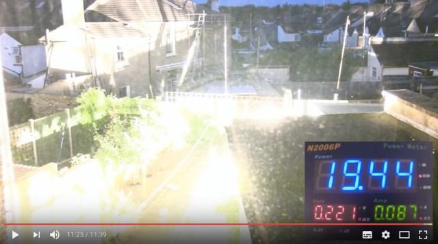 ほぼ太陽! 部屋で「20000Wの電球」を点けるとこうなるって動画