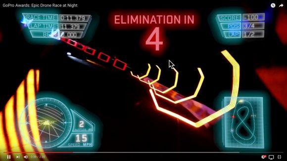 【動画】これが実写ってマジか! GoProで撮影された「ドローンレース」がどう見ても3Dゲーム