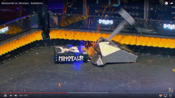 【動画】ブッ壊れたら負け! 海外版ロボットコンテスト「バトルボッツ」がまるで電流爆破デスマッチ