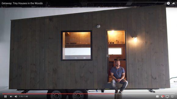 【動画あり】これなら住んでみたい! 森の中で超快適に過ごせる「レンタルハウス」が話題