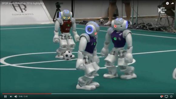 【イライラする動画】ロボットのサッカーW杯「ロボカップ 2016」の試合風景がとてもじゃないが見ていられない件
