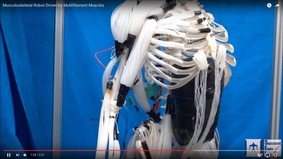 【さすが日本】これはスゴイ! 日本発「人工筋肉ロボット」の動きが超リアル