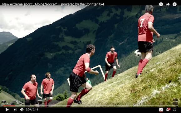 【衝撃動画】ドM必見! 世界一過酷なエクストリームサッカーがオーストリアで爆誕!!