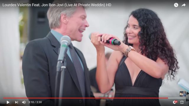 【動画あり】ジョン・ボン・ジョヴィが結婚式の余興に飛び入り! ヒット曲『リヴィン・オン・ア・プレイヤー』を熱唱して会場騒然!!