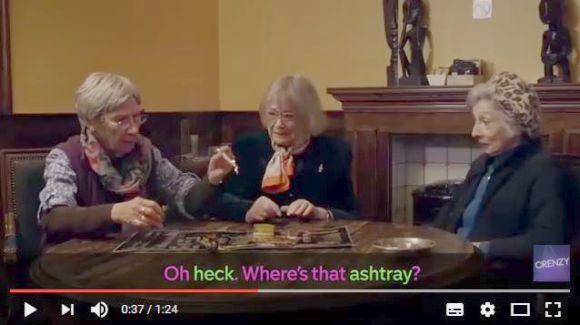 【超ハイレベル】おばあちゃん3人が本場アムステルダムでマリファナ初体験! イイ感じにデキ上がっちゃった女子会が超楽しそう!!