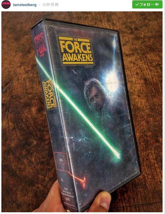 現代の映画を「80年代風VHSパッケージ」に再現したらこうなった! ってインスタが超カッチョいい!! 『スター・ウォーズ / フォースの覚醒』など