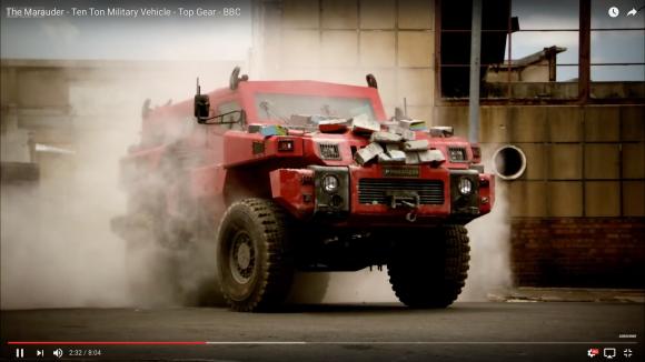 【世界最強】地雷やロケット弾にも耐えられる市販車「マローダー」が怪物すぎる件