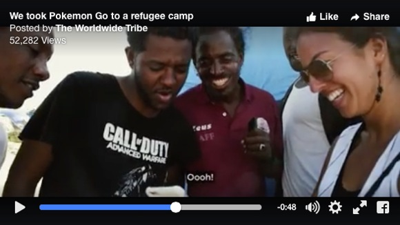 【動画】難民キャンプの人々に『ポケモンGO』で遊んでもらったらこうなった!「素晴らしいゲーム」「ここはジャングル。ポケモンなんていない」