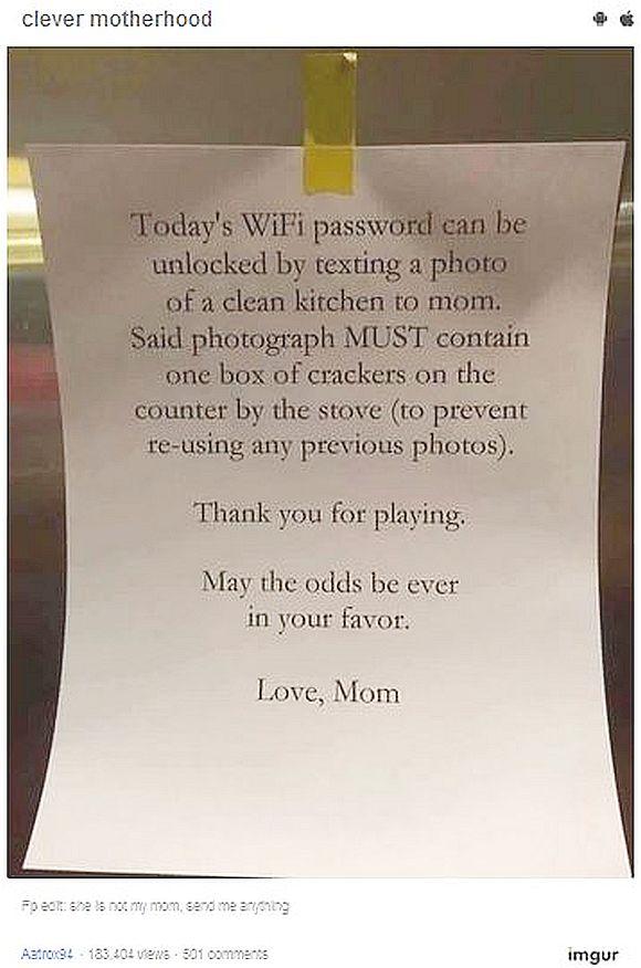【天才的発想】家の手伝いをしない子供にウンザリした母親が強硬策に出た! 超スマートな方法で言うことを聞かせちゃった件
