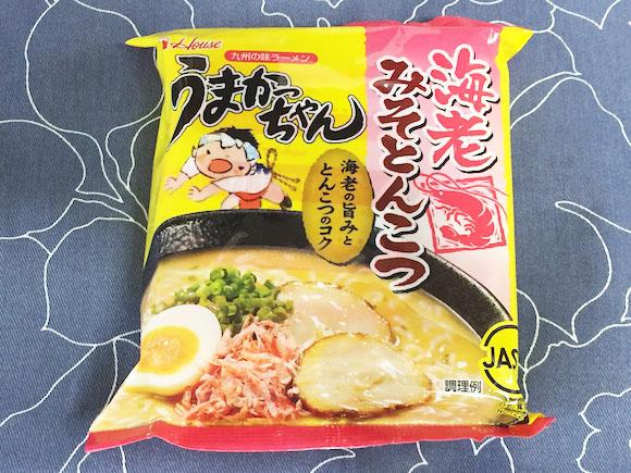 袋ラーメンの『うまかっちゃん』に海老みそとんこつ味が登場 / 爽やかで夏にピッタリな一品!