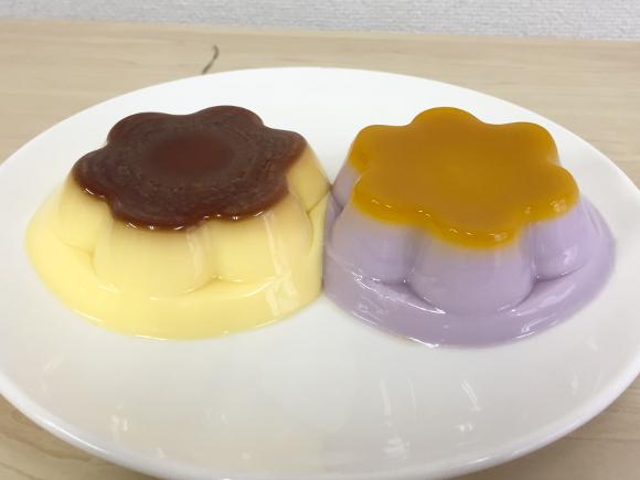 プッチンプリン「和むらさき」の色が衝撃的にヤバい! でも食べると激ウマ! メッチャおいしぃぃいいーーー!!