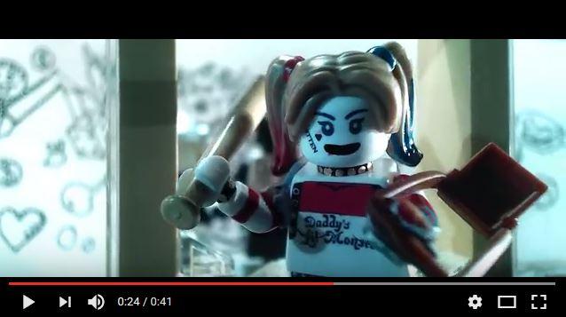 映画『スーサイド・スクワッド』をレゴで再現した予告編が超カワいいのだ! ワルな奴らがキュートなキャラに大変身!!