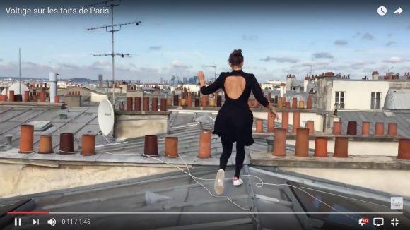 忍者かよ! 美女がパリの街を縦横無尽に飛び回る「パルクール動画」がスリル満点で超楽しい!!
