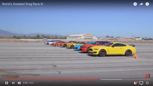 【動画】「有名スポーツカー12車種」の中で一番速いのがコレだ! 日産GT-RやホンダNSXも大健闘!!