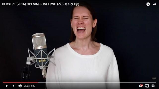 【絶唱】鳥肌必至の100秒! ノルウェーのメタルボーカリストが歌うアニメ『ベルセルク』のOP曲が半端ねェェェエエエ!!