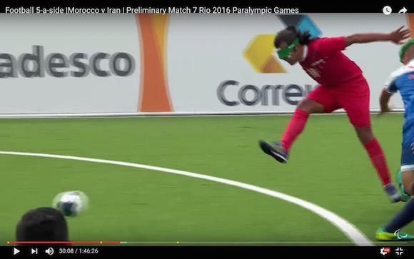 【パラリンピック】まるでメッシ! ブラインドサッカーで生まれたスーパーゴールが何度見てもスゴい!!