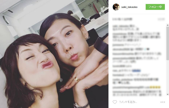 【美魔女】高岡早紀がインスタグラムで「変顔」を披露するも美しすぎると話題に / ネットの声「変顔しても美人!」「これを変顔とは言わない」