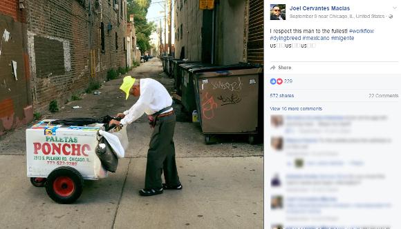 【奇跡】アイスキャンディーを売る89歳のおじいさんの「寂しすぎる写真」が話題に → 寄付金が4000万円近く集まる