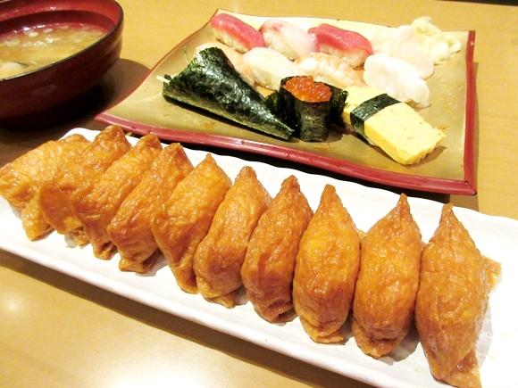【すげえ】寿司ランチを頼んだら無限に「いなり寿司」が食べ放題になる寿司屋があった! これで1000円とか安すぎだろ!! 東京『すしまみれ』