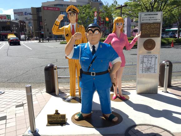 【こち亀】亀有駅周辺の『こち亀銅像』全15体まとめ / オススメは感涙必至の「少年両さん像」だ!