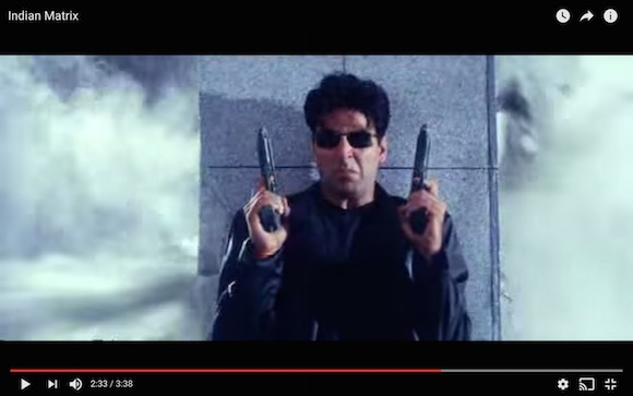 【衝撃動画】インド発の映画がどう見ても『マトリックス』