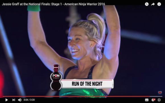 アメリカ版『SASUKE』で女性が史上初の快挙! 圧倒的なパフォーマンスで決勝ステージをクリア