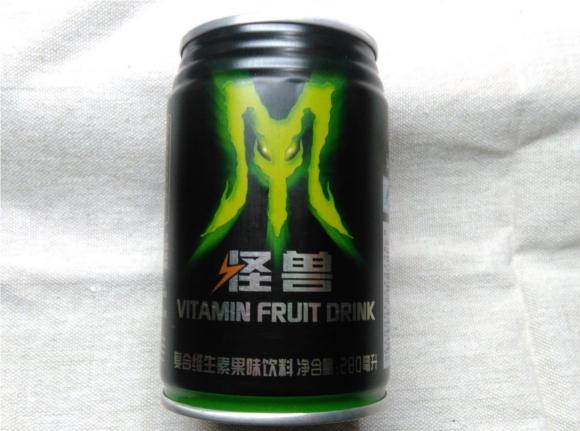 中国で販売されている『モンスター』に似た『怪獣』という名の国産エナジードリンクを飲んでみた!