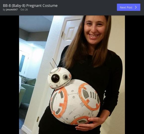 その手があったか! 妊婦さんの「秀逸ハロウィン仮装」 10選