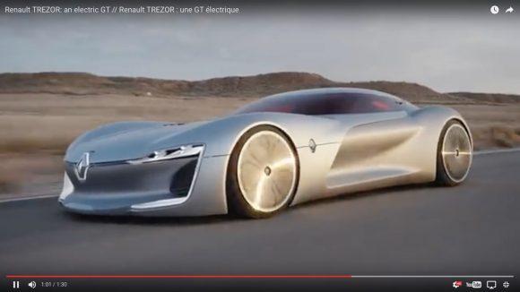 """【動画】ボディー上部が """"ガバッ"""" と開く「ルノーの新型コンセプトカー」が独特すぎて予想外"""