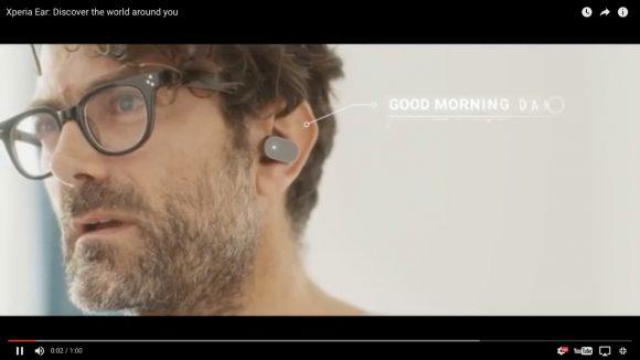 【動画あり】ソニーから「耳に装着するXperia」が爆誕! 通話・メッセージの送受信・ナビの操作・情報検索がハンズフリーに!!