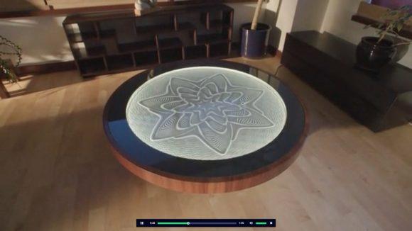 【動画】永遠に見てられる!「砂に模様を描き続けるテーブル」が神秘的すぎてヤバい!!