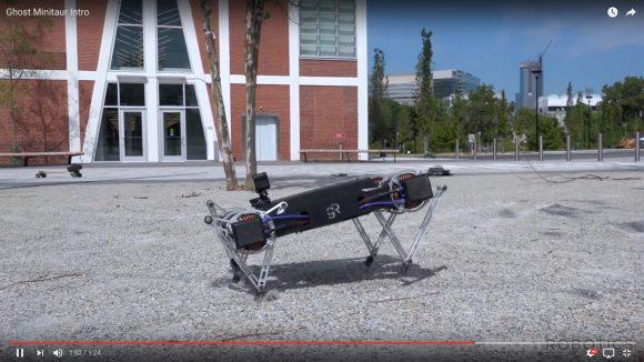【動画あり】ピョンピョン跳ねる「4足歩行ロボット」の運動能力がハンパない!
