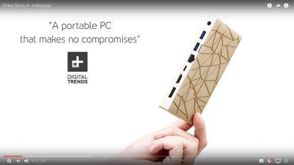 【待ってた】ガチで使える!「Windows10 搭載のポケットサイズ PC」が超便利そう!!