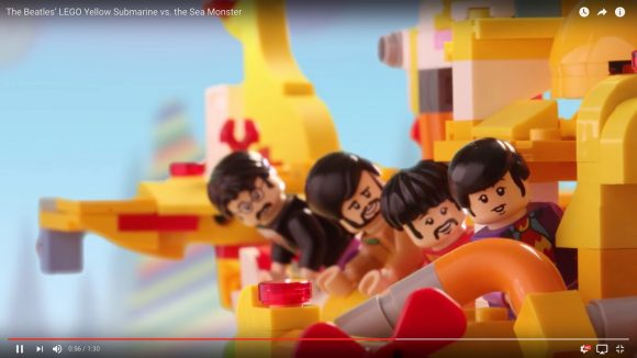 【動画あり】Amazonでも予約可能! ビートルズ「イエロー・サブマリンのLEGOセット」が登場!!