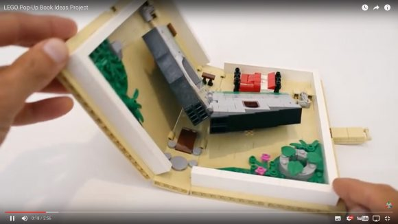 【動画あり】これは欲しい!「飛び出す絵本を再現したLEGO」が海外で話題