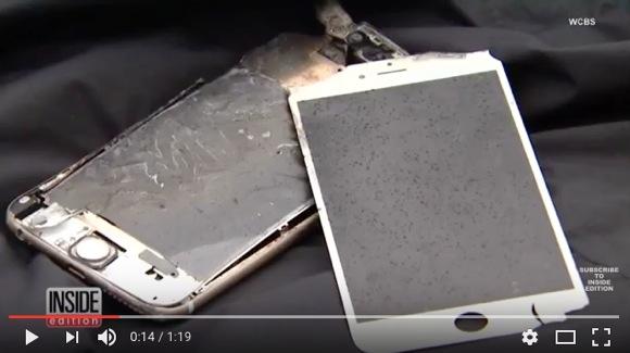 【マジか】尻ポケットの iPhone が突然燃え始める事故発生! 幸いポケットに穴が空いただけで大きな被害はナシ / Appleは「調査を行う」とコメント