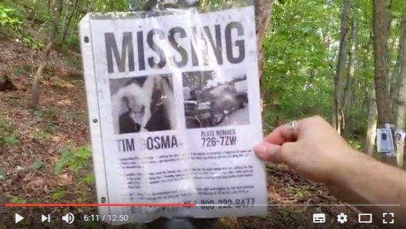 【謎】行方不明者の写真が木に貼りまくられた不気味な森が話題 /  まるで『ブレア・ウィッチ・プロジェクト』