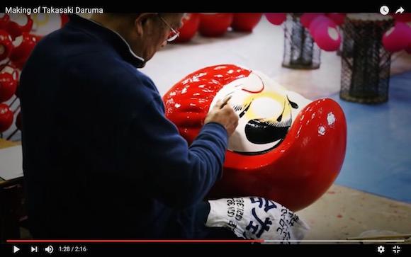 【動画】これぞ職人技! 高崎だるまの作り方が匠すぎて感動!!