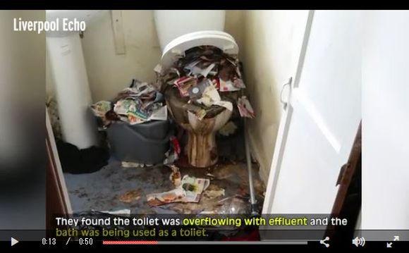 【閲覧注意】トイレがゴミだらけで風呂場で排泄……問題だらけの一家が住んでいた家が「ゴミ屋敷を超えるゴミ集積所」レベルに!!