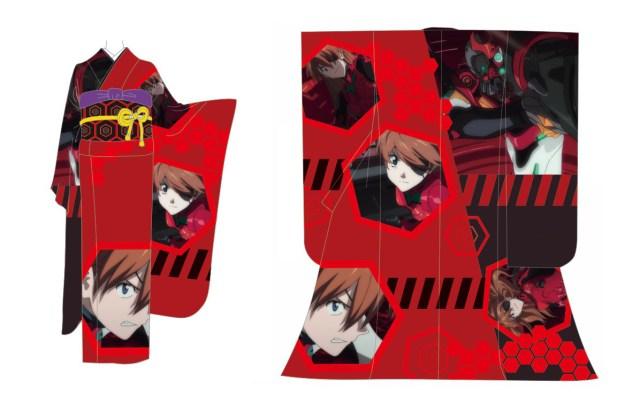 【痛着物】お値段たったの20万円!『エヴァンゲリオン新劇場版:Q』デザインの振袖、発進!!