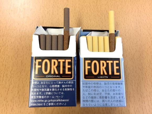 フォルテ タバコ