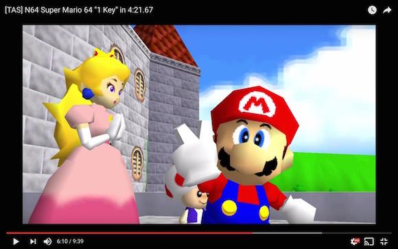 【神業動画】4分21秒67でクッパを撃破! スーパーマリオ64の世界最速クリア方法はコレだ!!