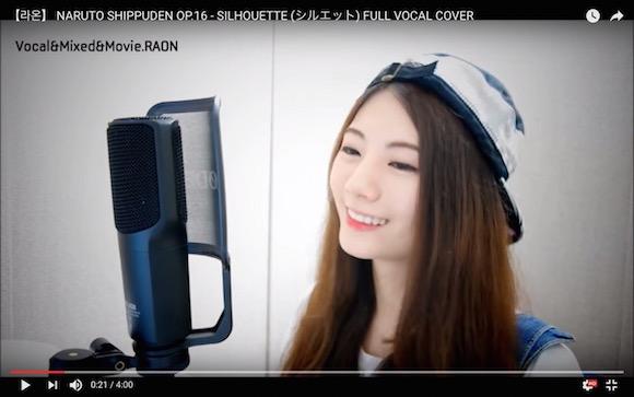 【鳥肌注意】韓国の美人ユーチューバーが見事なアニソンカバーをしていると話題