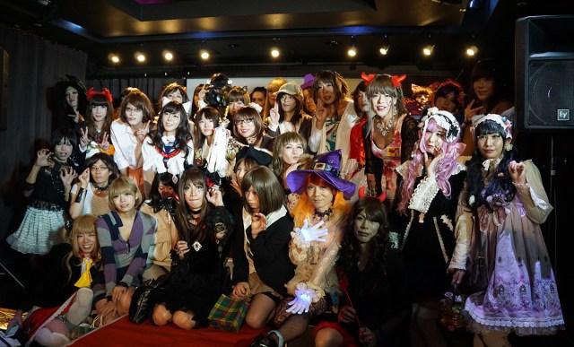 【写真集】女装子だらけのハロウィンパーティー「RAAR's Night vol.3」に女装して潜入してきたョ☆