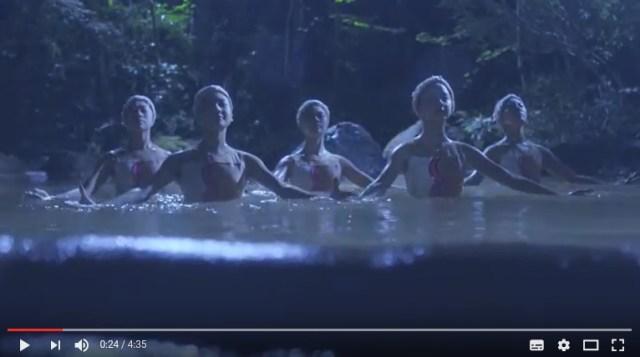【シンフロ】大分県が「温泉でシンクロをするPR動画」を2年連続で公開 / ラストに登場する世界初の試みとは?