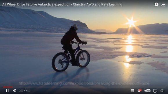 【動画あり】南極を走れる全輪駆動の自転車が登場! 価格は約54万円〜