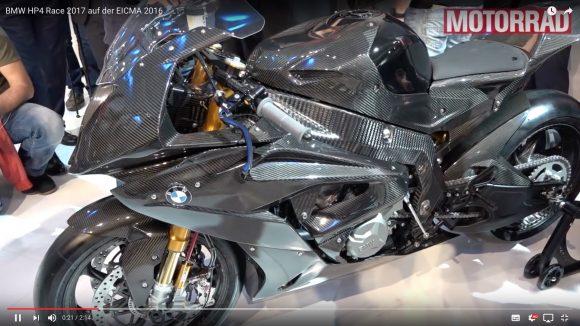 """【動画あり】こりゃスゲぇ! BMWから """"カーボン使いまくり"""" のレーシングバイク「HP4 RACE」が登場!!"""