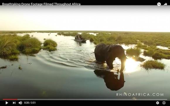 心が洗われるような4分間! かつてない視点からドローンで撮影したアフリカ大陸が美しすぎる